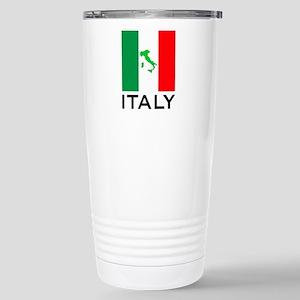 italy flag 00 Stainless Steel Travel Mug