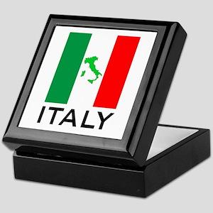 italy flag 00 Keepsake Box