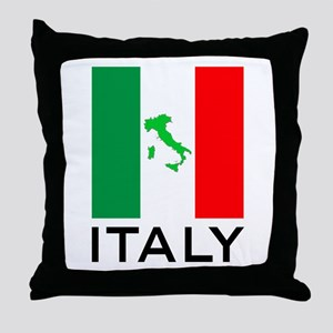 italy flag 00 Throw Pillow