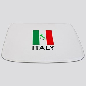 italy flag 00 Bathmat