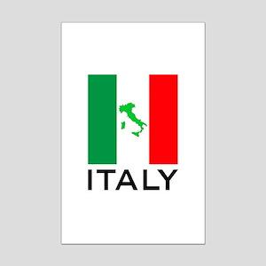 italy flag 00 Mini Poster Print