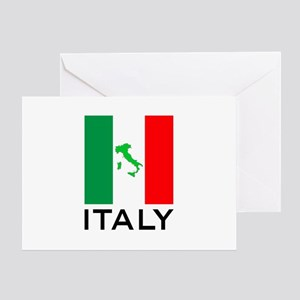 italy flag 00 Greeting Card