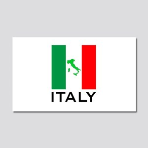 italy flag 00 Car Magnet 20 x 12