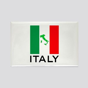 italy flag 00 Rectangle Magnet