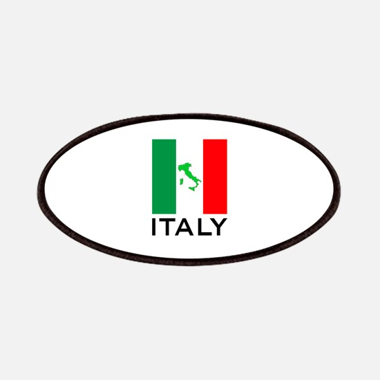 italy flag 00 Patches