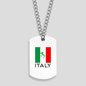 italy flag 00 Dog Tags