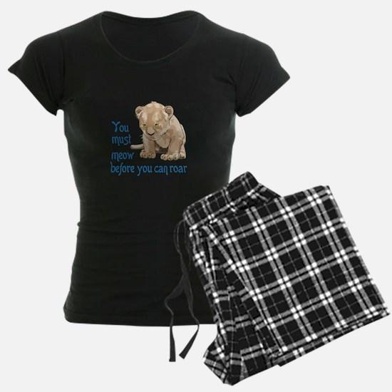 MEOW BEFORE ROAR Pajamas