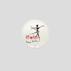 itwirl Baton Twirler Mini Button
