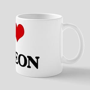 I Love Deleon Mug