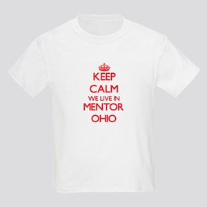 Keep calm we live in Mentor Ohio T-Shirt