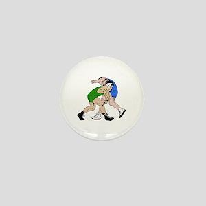 WRESTLERS Mini Button