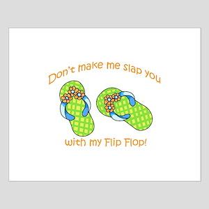 GREEN FLIP FLOPS Posters