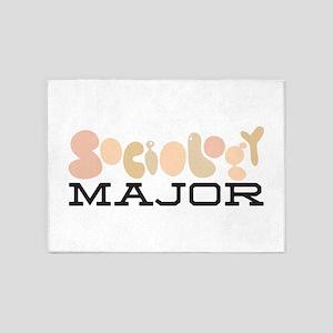 Sociology Major 5'x7'Area Rug