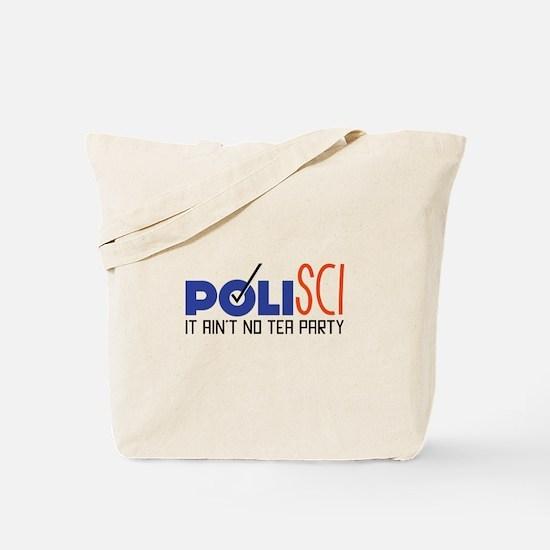 No Tea Party Tote Bag