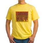 I Survived The Summer Of Love Yellow T-Shirt