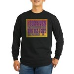 I Survived The Summer Of Love Long Sleeve Dark T-S