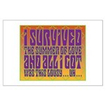 I Survived The Summer Of Love Large Poster