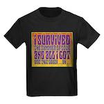 I Survived The Summer Of Love Kids Dark T-Shirt