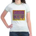 I Survived The Summer Of Love Jr. Ringer T-Shirt