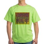 I Survived The Summer Of Love Green T-Shirt