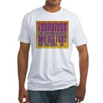 I Survived The Summer Of Love Fitted T-Shirt