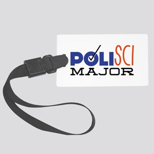 Political Science Major Luggage Tag