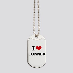 I Love Conner Dog Tags