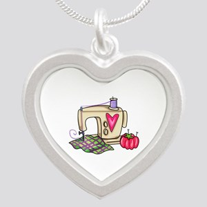 SEWING MACHINE Necklaces