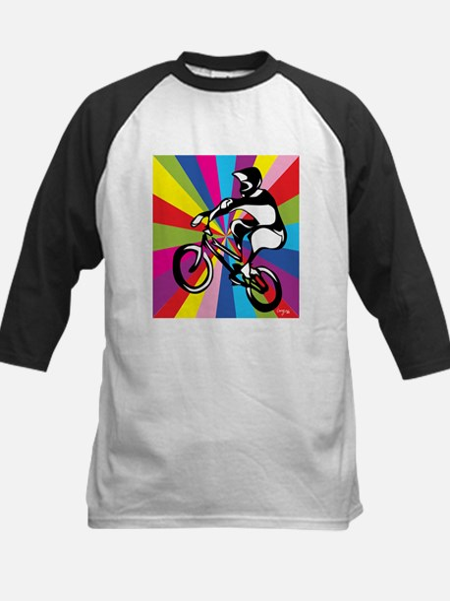 BMX Rider Baseball Jersey