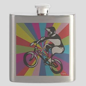 BMX Rider Flask