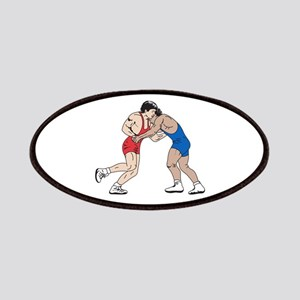 WRESTLERS Patches