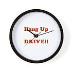 Hang Up & Drive Wall Clock