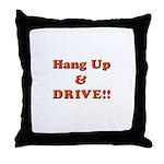 Hang Up & Drive Throw Pillow