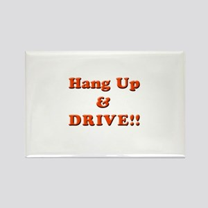 Hang Up & Drive Rectangle Magnet