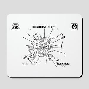 Space: 1999 - Moonbase Alpha Mousepad