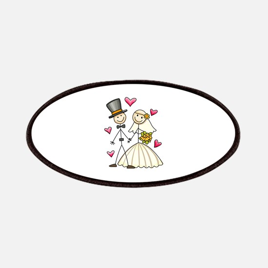 BRIDE AND GROOM Patches