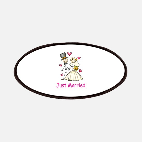Just Married Patches