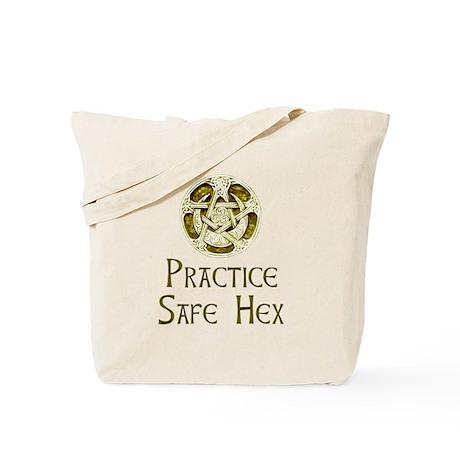 Practice Safe Hex, Tote Bag