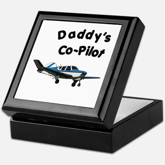 Dad's copilot Keepsake Box