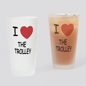 I love The Trolley Drinking Glass