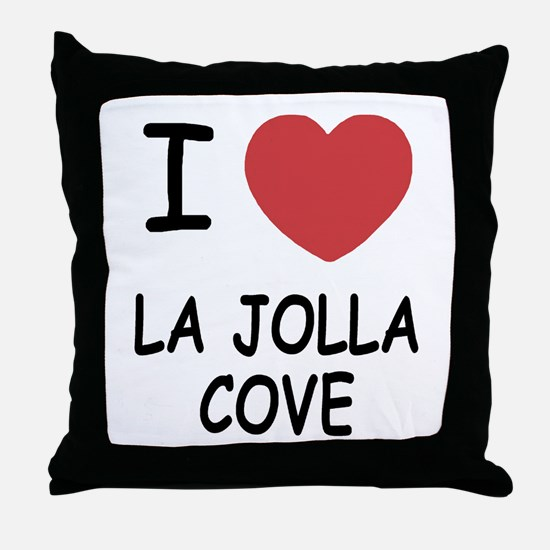 I love La Jolla Cove Throw Pillow