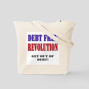 Debt Free Revolution Tote Bag