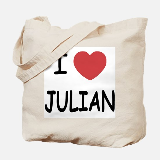 I love Julian Tote Bag