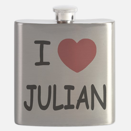 I love Julian Flask