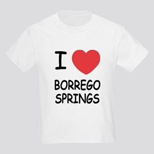 I love Borrego Springs Kids Light T-Shirt