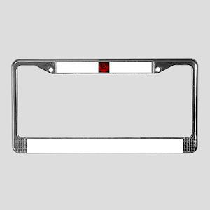 Heart 027 License Plate Frame