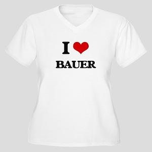 I Love Bauer Plus Size T-Shirt