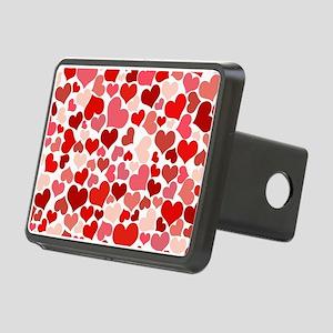 Heart 041 Rectangular Hitch Cover