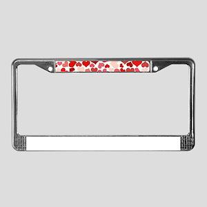 Heart 041 License Plate Frame