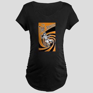 Time Traveler scifi vintage Mug Maternity T-Shirt